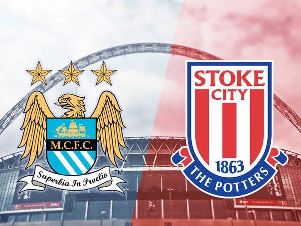Манчестер С – Сток С. Английская Премьер Лига 2014/15