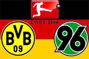 Боруссия Д – Ганновер-96. Чемпионат Германии 2014-15