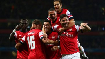 «Арсенал» сильнее «Наполи»