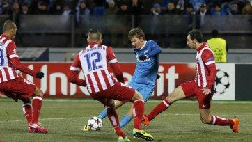 «Зенит» - «Атлетико». Статистический анализ матча