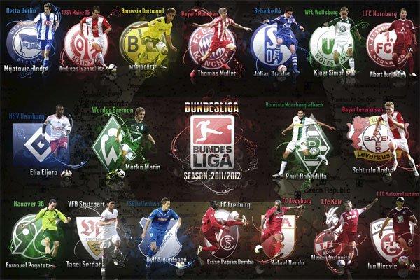 Немецкая футбольные клубы