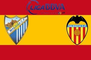Малага - Валенсия (0:0) (17.01.2014) Видео Обзор