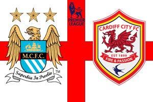 Манчестер Сити - Кардифф (4:2) (18.01.2014) Видео Обзор