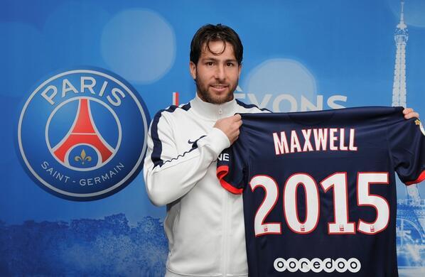 Максвелл официально перешел в псж