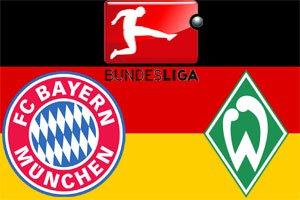 Бавария – Вердер. Чемпионат Германии 2014-15
