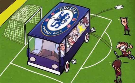 «Челси» на футбольном поле