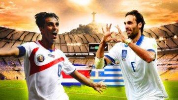 Анонс. Коста-Рика – Греция – для кого сказка Чемпионата мира продолжится?