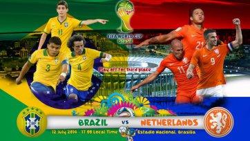 Анонс. Бразилия – Голландия – утешительный финал для «неудачников»