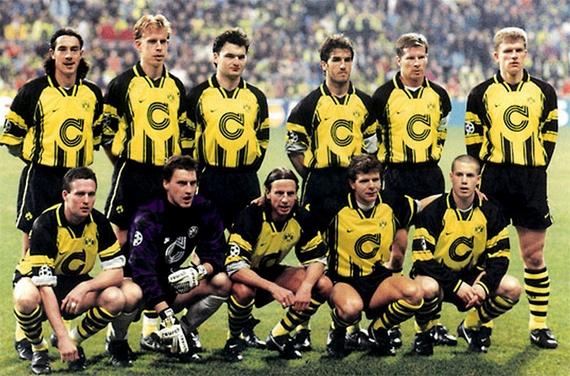 Боруссия дортмунд- ювентус лч 96- 97