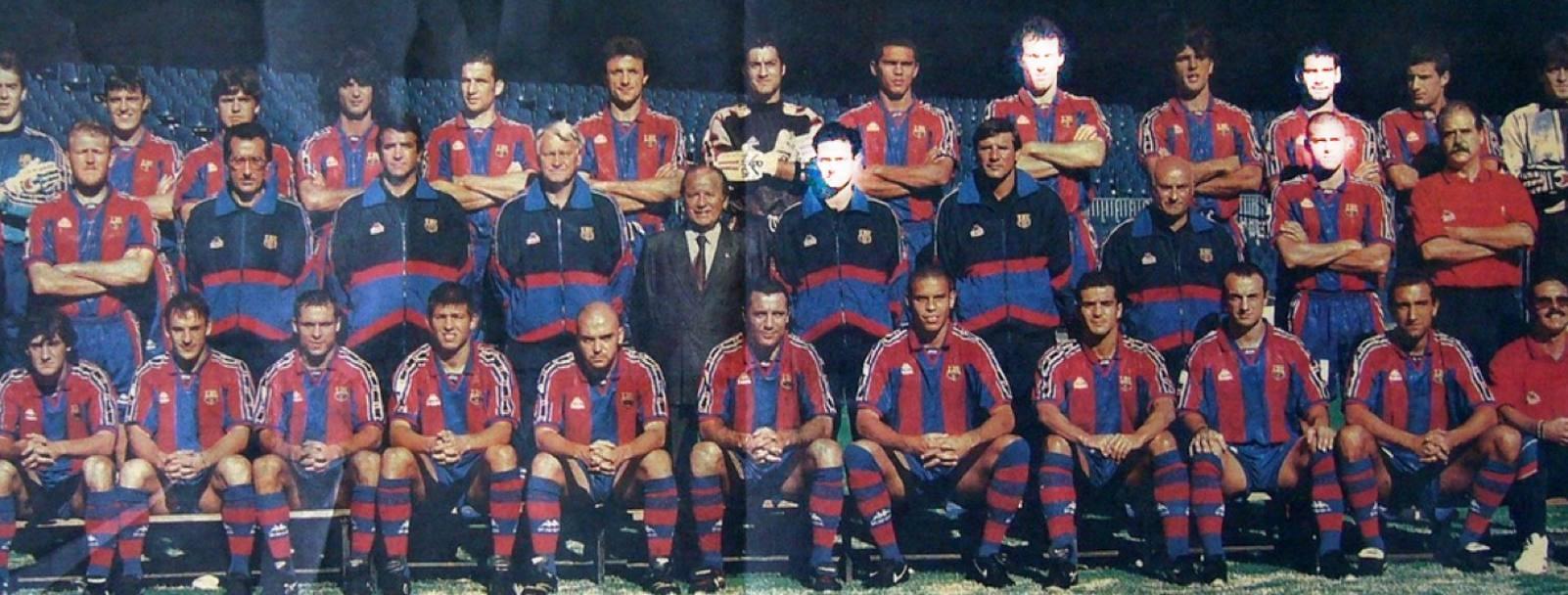 Состав команды барселона 1996 года