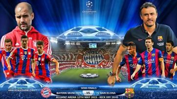 Барселона - Бавария прямая видео трансляция онлайн Барселона Бавария смотреть онлайн 6.05.15