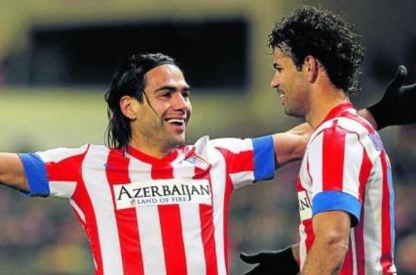 Диего Коста и Фалькао