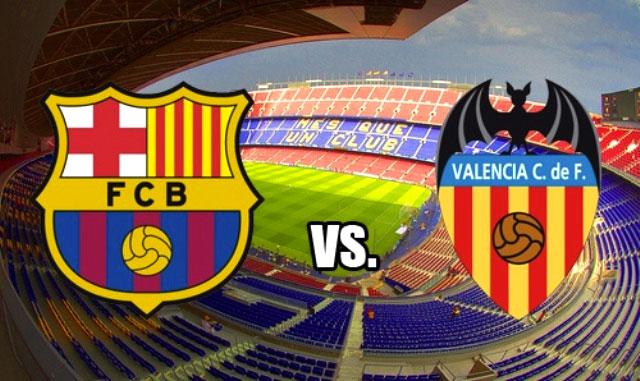 Барселона - Валенсия 03.02.2016 Барселона - Валенсия 03.02.16