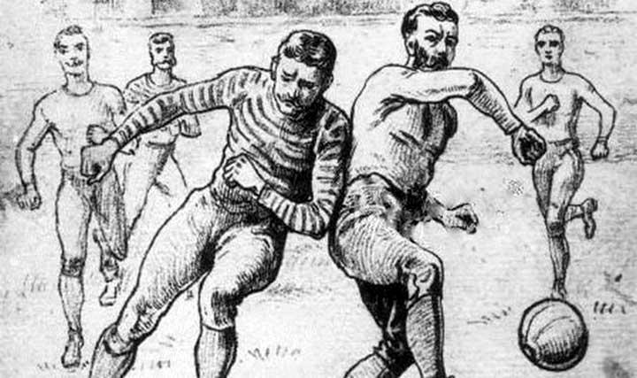 История футбола на английском