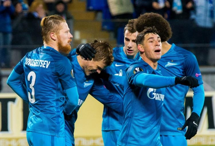 «Зенит» переиграл «Маккаби» Тель-Авив благодаря голам Кокорина и Кержакова