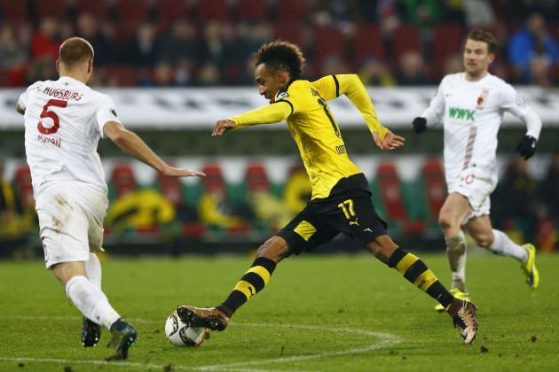 Футбол онлайн трансляция боруссия дортмунд аугсбург