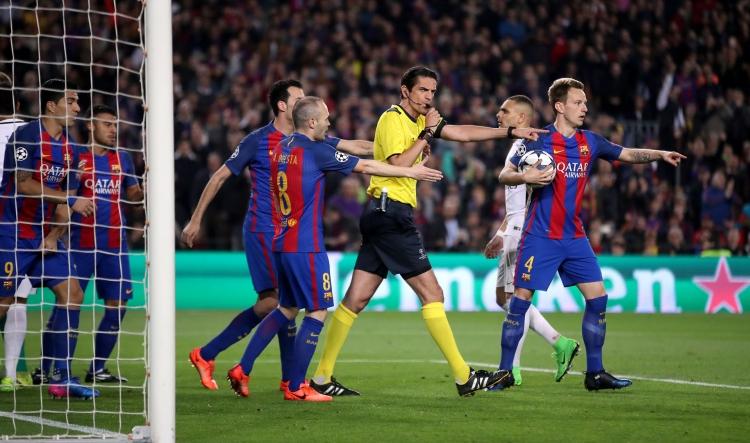 Барселона псж ответный матч