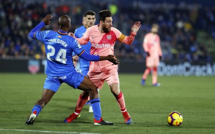 Барселона хетафе футбол испания чемпионат испании