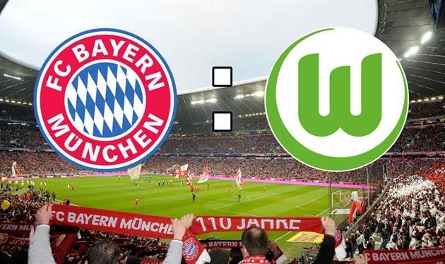 Смотреть онлайн футбол бавария вольфсбург