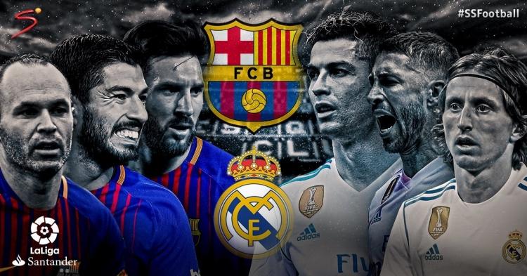 Барселона реал мадрид 6 0 матч